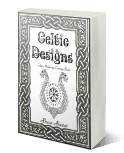 Pagan Symbols Free Pagan Coloring Pages Celtic Designs: Celtic Mythology Coloring Book