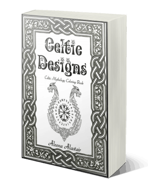 Celtic Designs: Celtic Mythology Coloring Book
