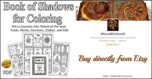 Book-of-Shadows-for-Coloring-PDF-Wicca-Journey-into-Wheel-of-the-year-Goddess-Herbs-Incenses-Zodiac-and-Oils