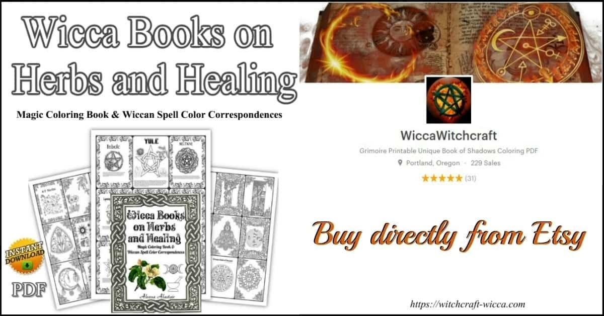 Magic Coloring Book & Wiccan Spell Color Correspondences