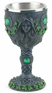 Wiccan tools magical tools - Cup or Chalice Wicca magic Altar tool