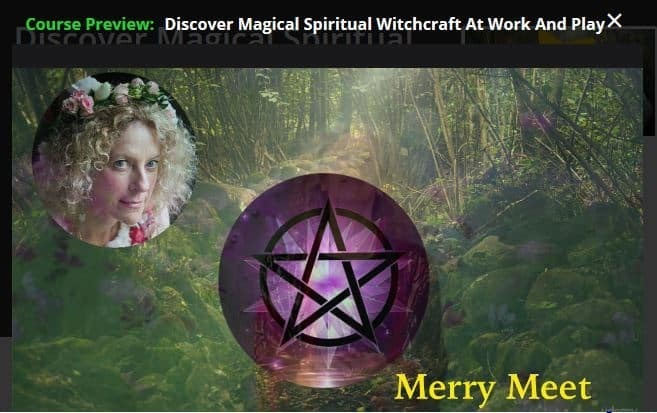 Discover witchcraft lessons, learn how to cast spells and engage in