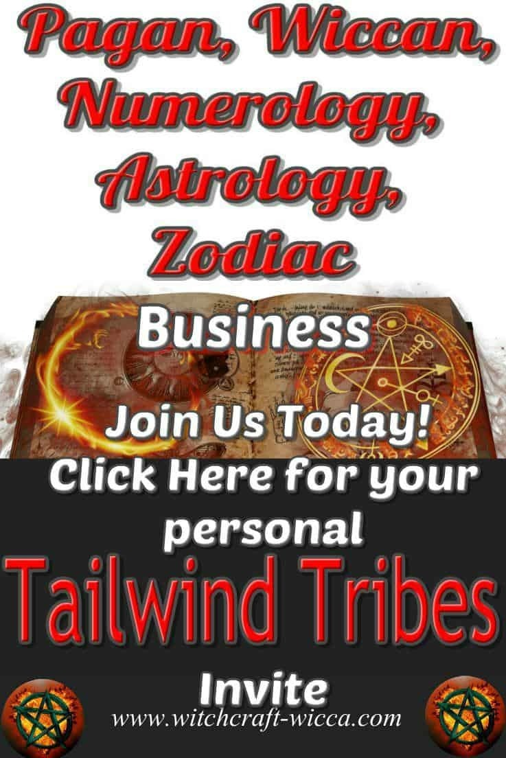 Tailwind Tribes invite for Bloggers Join wicca pagan