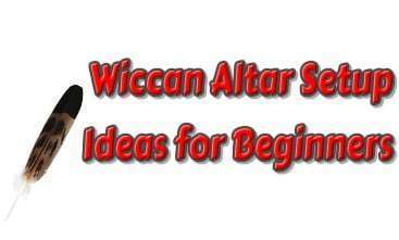 Wiccan Altar Setup for Beginners-Athame knife,Witch broom,Magic candles,Witches cauldron,Chalice, pentagram, triple moon, celtic cross,Incense Powder,Incense Sticks ,Wiccan pentacle,Magic Wand
