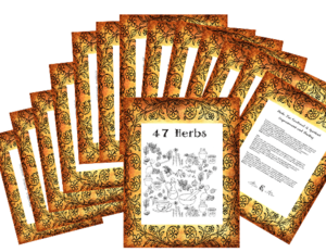 47 Herbs for Emotional and spiritual Healing, 18 pages