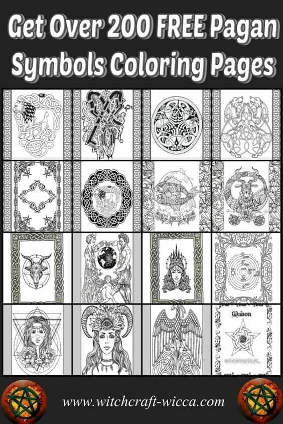 #Pagan Symbols #Free #Coloring Pages #Wiccan Book of Shadows Gods, Herbs, Magic, Spells, Horoscope, Celtic Knots, Goddesses, Wheel of the Year