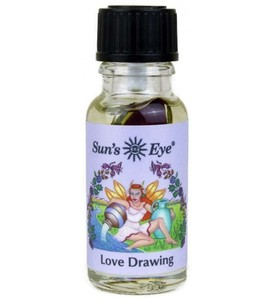 Love Drawing Oil, featuring Rose Buds with sweet and floral top notes in a base of Rose, is formulated to attract love.