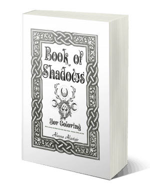 Free Magic coloring book, Pagan Gifts Kindle and Print Editions Book of Shadows for Coloring