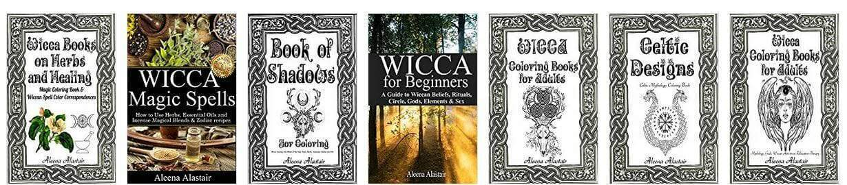 Wicca Coloring Books for Adults, Book of Shadows for Coloring: Wicca Journey into Wheel of the year, Gods, Herbs, Incenses, Zodiac, and Oils