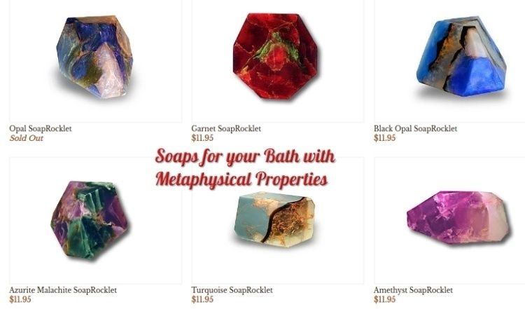 Soaps for your bath with Metaphysical Properties