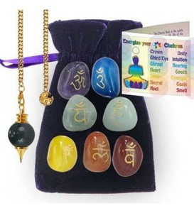 Chakra Energizing Kit. The Chakras are the seven energy centers of the human body. They enhance our physical, mental and spiritual well being.
